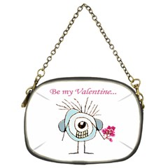 Valentine Day Poster Chain Purses (Two Sides)