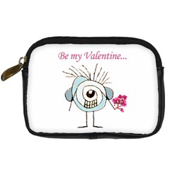 Valentine Day Poster Digital Camera Cases
