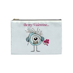 Valentine Day Poster Cosmetic Bag (Medium)