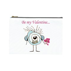Valentine Day Poster Cosmetic Bag (Large)