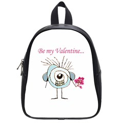 Valentine Day Poster School Bags (Small)