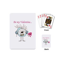 Valentine Day Poster Playing Cards (Mini)
