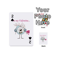 Valentine Day Poster Playing Cards 54 (Mini)