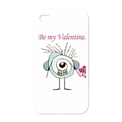 Valentine Day Poster Apple iPhone 4 Case (White)