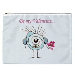 Valentine Day Poster Cosmetic Bag (XXL)