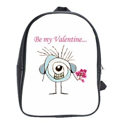 Valentine Day Poster School Bags (XL)