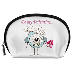 Valentine Day Poster Accessory Pouches (Large)