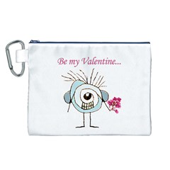 Valentine Day Poster Canvas Cosmetic Bag (L)