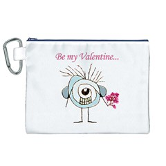 Valentine Day Poster Canvas Cosmetic Bag (XL)