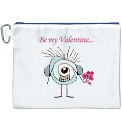 Valentine Day Poster Canvas Cosmetic Bag (XXXL)