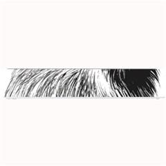 Cairn Terrier Greyscale Art Small Bar Mats