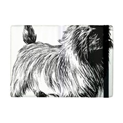 Cairn Terrier Greyscale Art Apple iPad Mini Flip Case