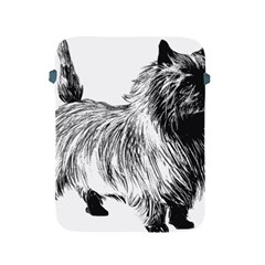 Cairn Terrier Greyscale Art Apple iPad 2/3/4 Protective Soft Cases