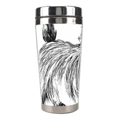 Cairn Terrier Greyscale Art Stainless Steel Travel Tumblers