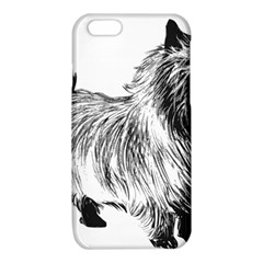 Cairn Terrier Greyscale Art iPhone 6/6S TPU Case