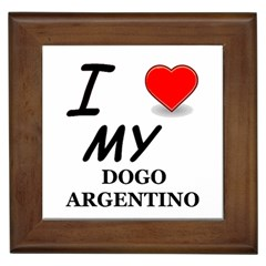 Dogo Love Framed Tiles