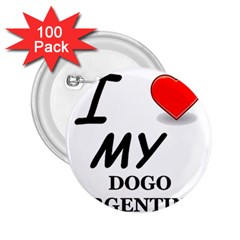 Dogo Love 2.25  Buttons (100 pack)