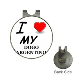 Dogo Love Hat Clips with Golf Markers
