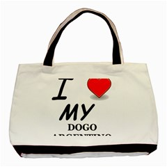 Dogo Love Basic Tote Bag