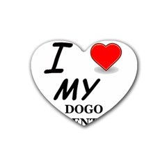 Dogo Love Heart Coaster (4 pack)