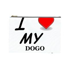 Dogo Love Cosmetic Bag (Large)