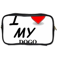 Dogo Love Toiletries Bags 2-Side