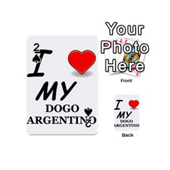 Dogo Love Playing Cards 54 (Mini)