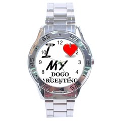 Dogo Love Stainless Steel Analogue Watch