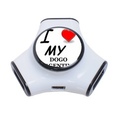 Dogo Love 3-Port USB Hub