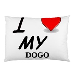 Dogo Love Pillow Case (Two Sides)