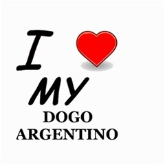 Dogo Love Small Garden Flag (Two Sides)