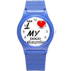 Dogo Love Round Plastic Sport Watch (S)