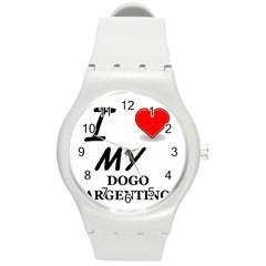 Dogo Love Round Plastic Sport Watch (M)