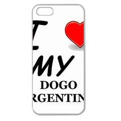 Dogo Love Apple Seamless iPhone 5 Case (Clear)