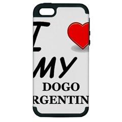 Dogo Love Apple iPhone 5 Hardshell Case (PC+Silicone)