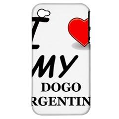 Dogo Love Apple iPhone 4/4S Hardshell Case (PC+Silicone)