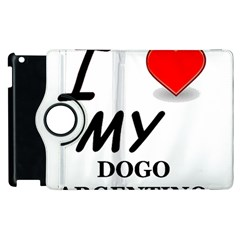 Dogo Love Apple iPad 2 Flip 360 Case