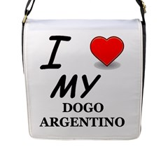 Dogo Love Flap Messenger Bag (L)