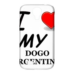 Dogo Love Samsung Galaxy S4 Classic Hardshell Case (PC+Silicone)