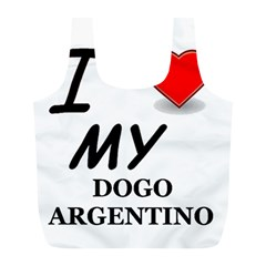 Dogo Love Full Print Recycle Bags (L)