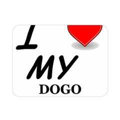 Dogo Love Double Sided Flano Blanket (Mini)