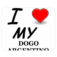 Dogo Love Double Sided Flano Blanket (Medium)
