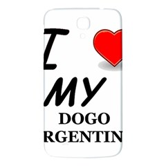 Dogo Love Samsung Galaxy Mega I9200 Hardshell Back Case