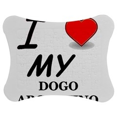 Dogo Love Jigsaw Puzzle Photo Stand (Bow)