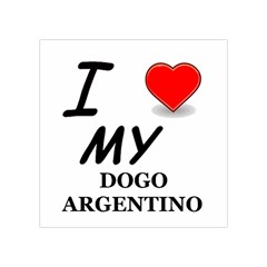 Dogo Love Square Tapestry (Small)