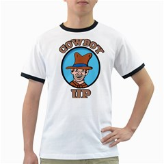 Cowboy Up Ringer T-Shirts