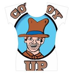 Cowboy Up Women s Cap Sleeve Top