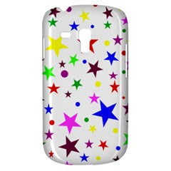 Stars Pattern Background Colorful Red Blue Pink Galaxy S3 Mini