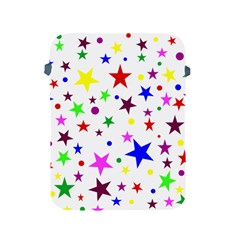 Stars Pattern Background Colorful Red Blue Pink Apple iPad 2/3/4 Protective Soft Cases