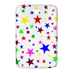 Stars Pattern Background Colorful Red Blue Pink Samsung Galaxy Note 8.0 N5100 Hardshell Case